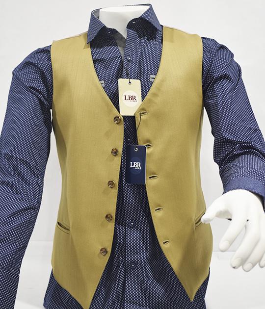 Chaleco y camisa para hombre
